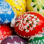 Decorated Easter Eggs by Vera Kratochvil 2